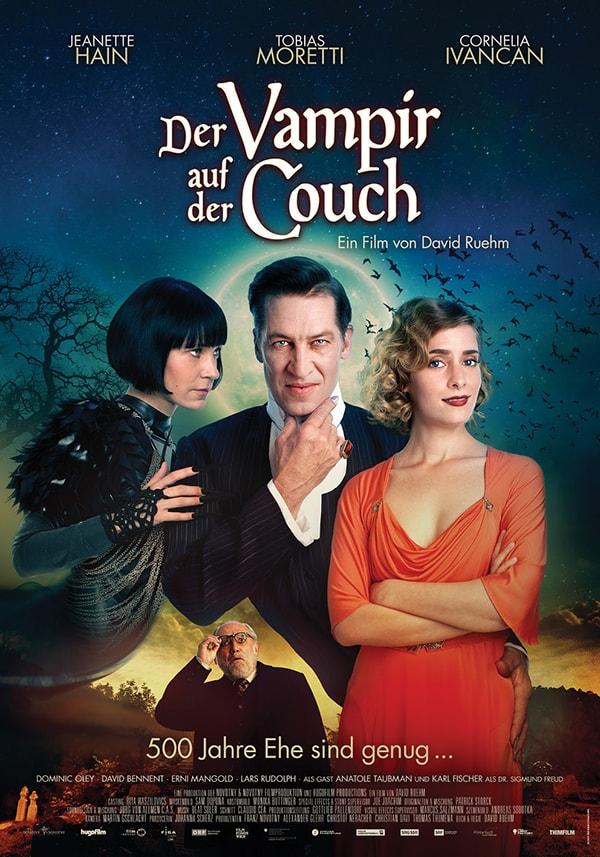 affiche der vampire auf der couch